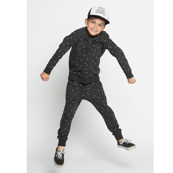 Munster Kids Not Square Fleece Crew - Tiny People Cool Kids Clothes Byron Bay