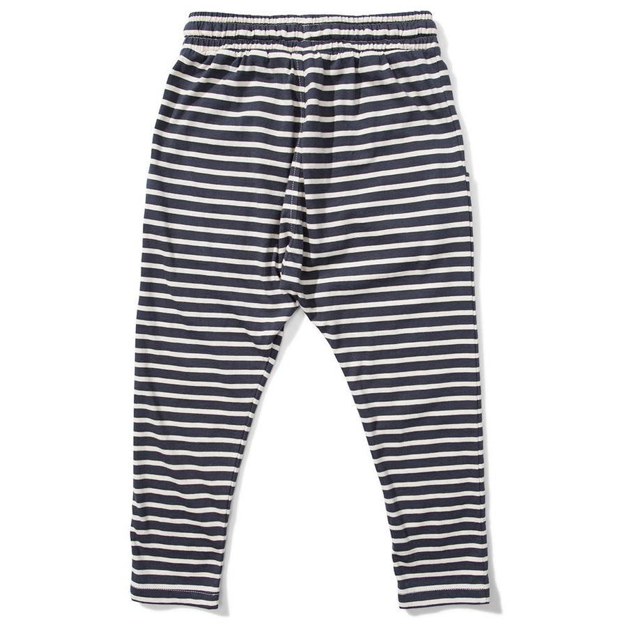 Missie Munster Rise Pant Ash Black Stripe - Tiny People Cool Kids Clothes Byron Bay