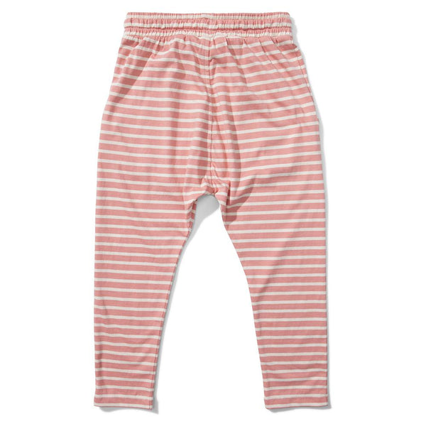 Missie Munster Rise Jersey Pant Desert Sand Stripe - Tiny People Cool Kids Clothes Byron Bay