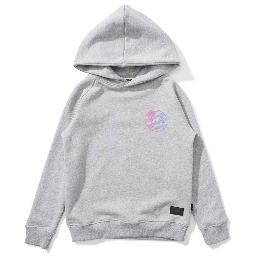 Skeletor Fleece Hoody Grey Marle
