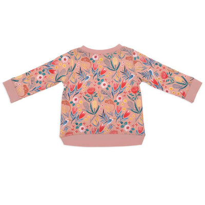 Goldie & Ace Native Garden Print Sweater Crews & Hoodies - Tiny People Cool Kids Clothes