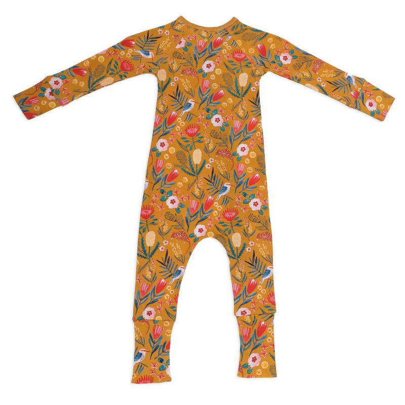 Goldie & Ace Native Garden Zipsuit Romper - Tiny People Cool Kids Clothes