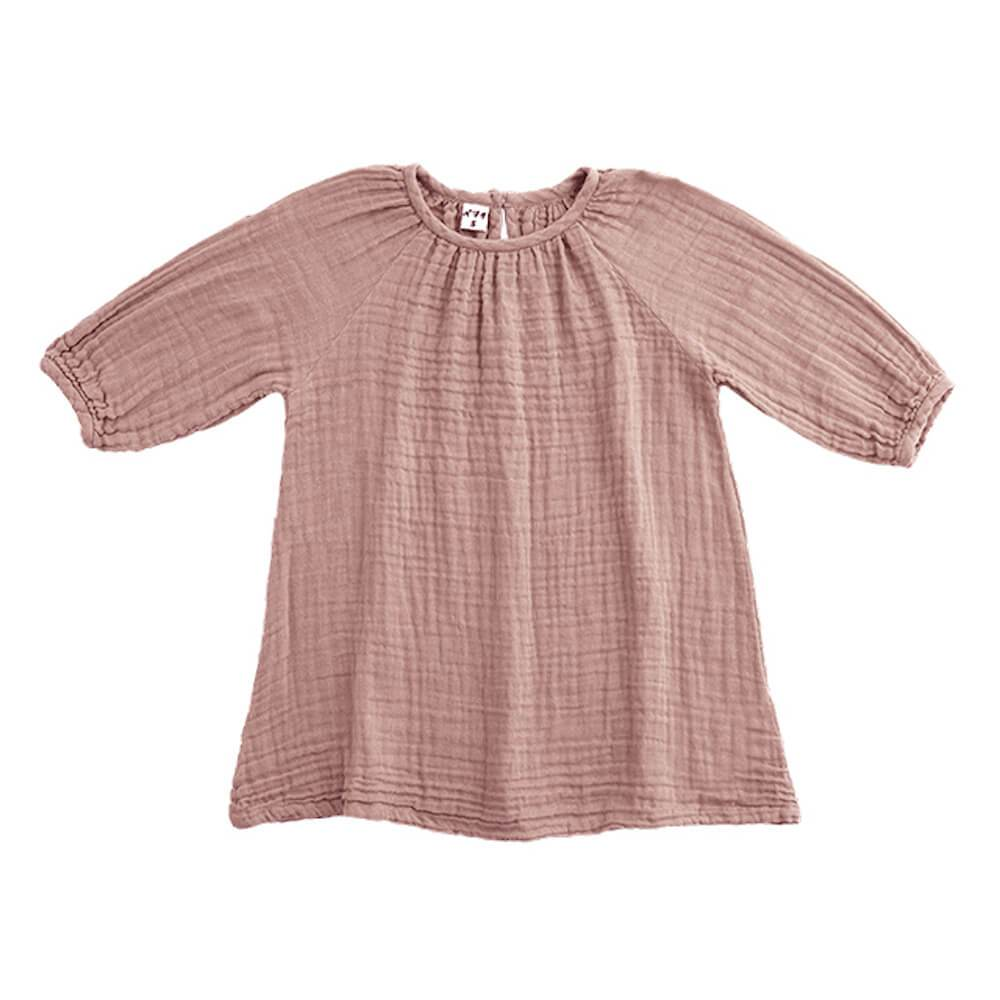 Numero 74 Nina Dress Dusty Pink dresses - Tiny People Cool Kids Clothes