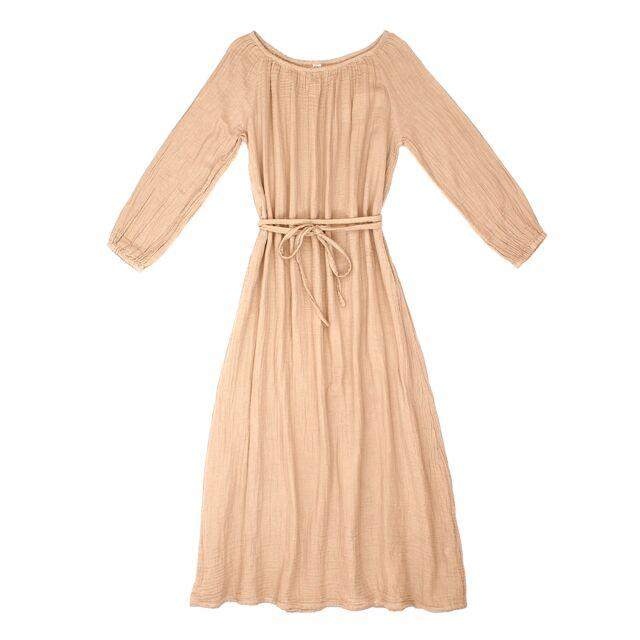 Nina Dress Long Women's Pale Peach