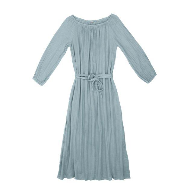 Numero 74 Nina Dress Long Women's Sweet Blue Womens Dresses - Tiny People Cool Kids Clothes