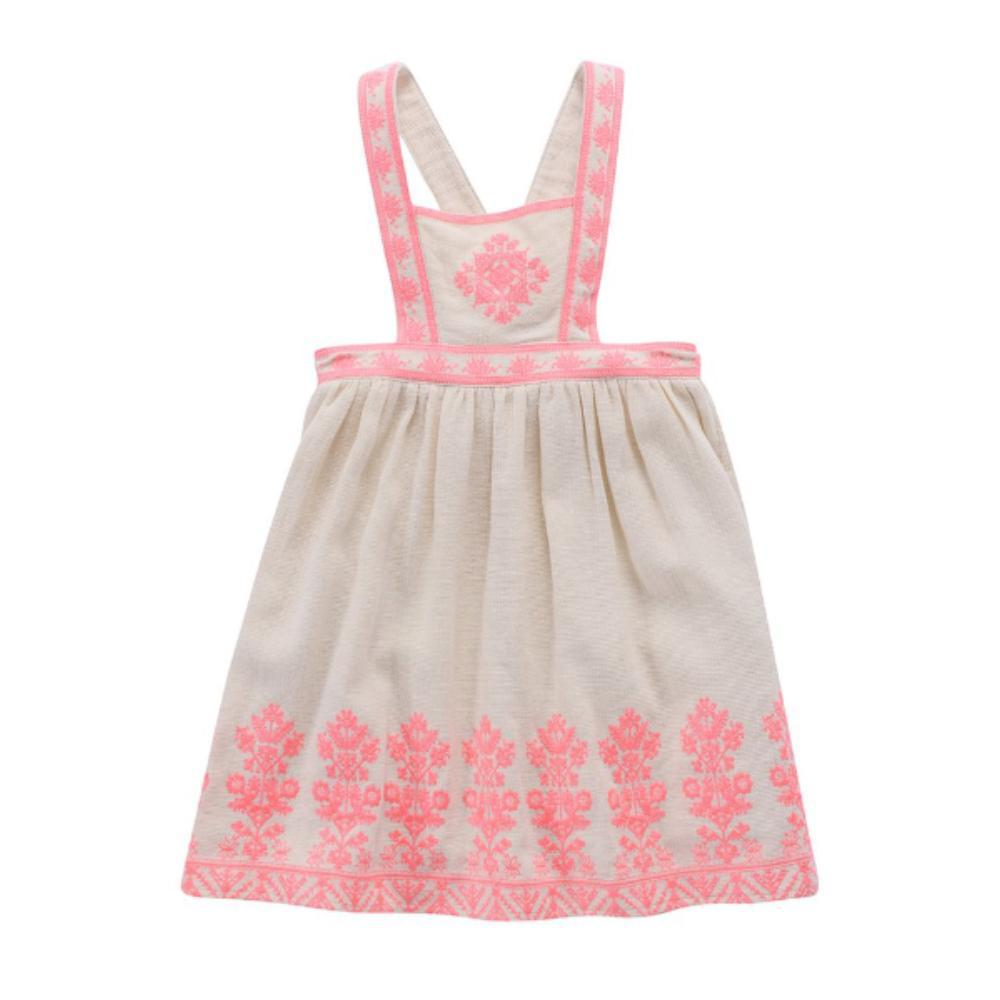Louise Misha Orzega Dress Cream - Tiny People Cool Kids Clothes Byron Bay