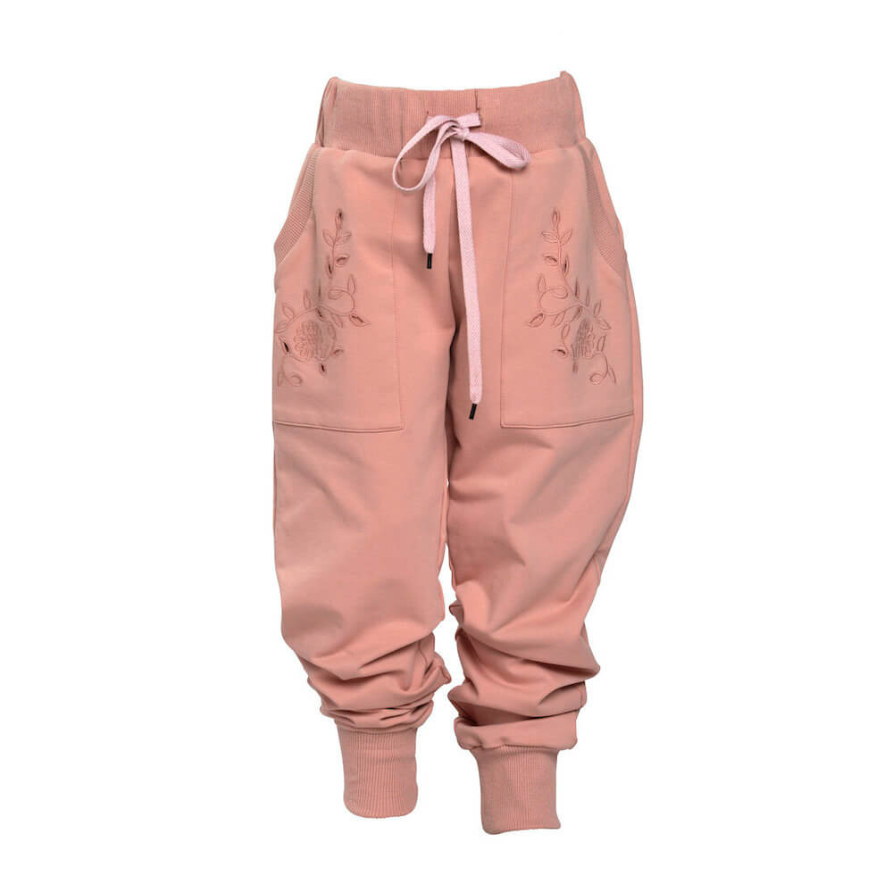 Petite Amalie Cut Out Sweat Pant Caramel | Tiny People