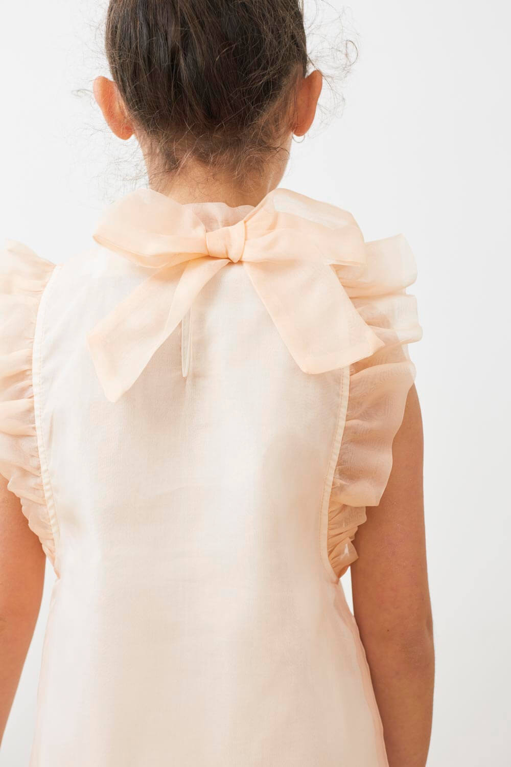 Petite Amalie Embroidered Organza Dress | Tiny People