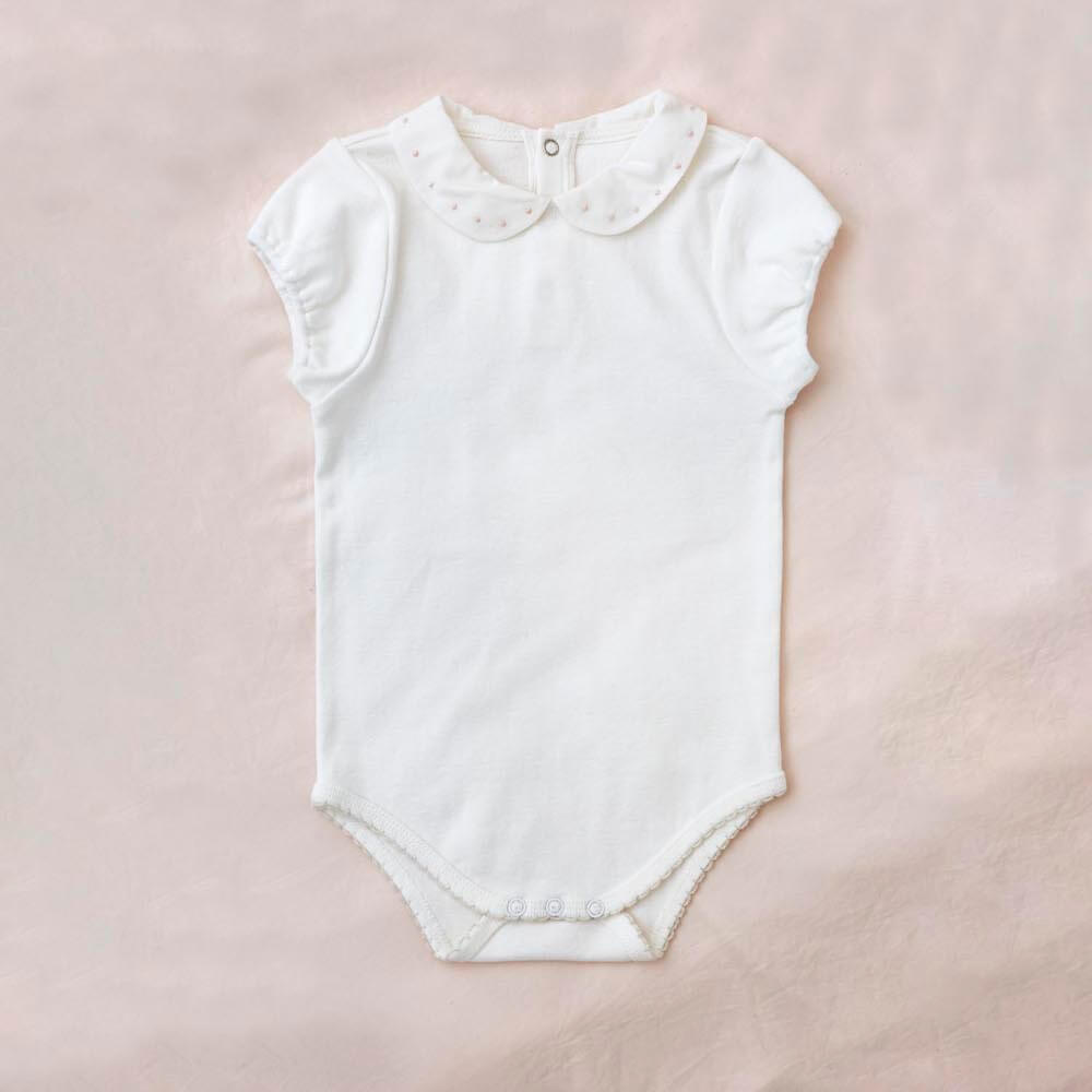 Petite Amalie Bebe Frilly Romper | Tiny People