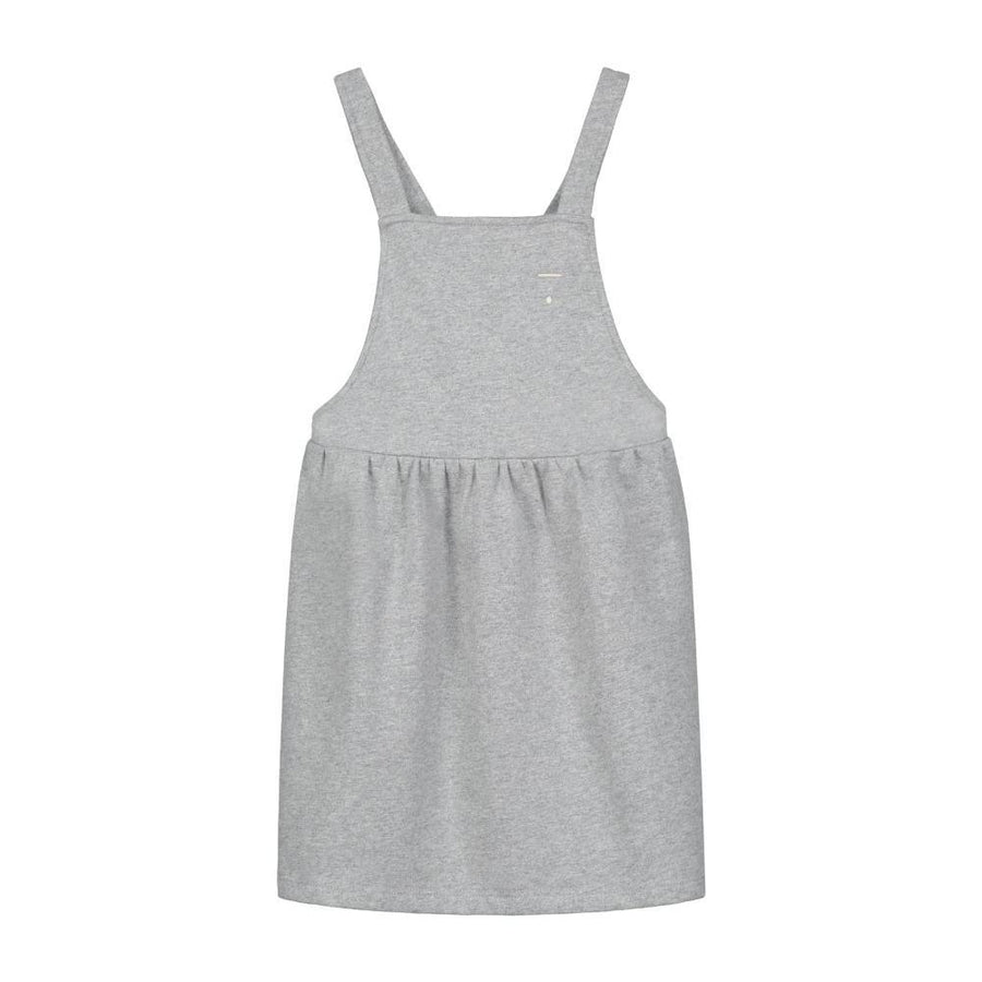 Pinafore Dress Grey Melange