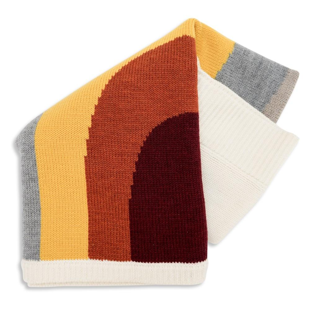 Goldie & Ace Rainbow Wool Knit Blanket Blankets - Tiny People Cool Kids Clothes