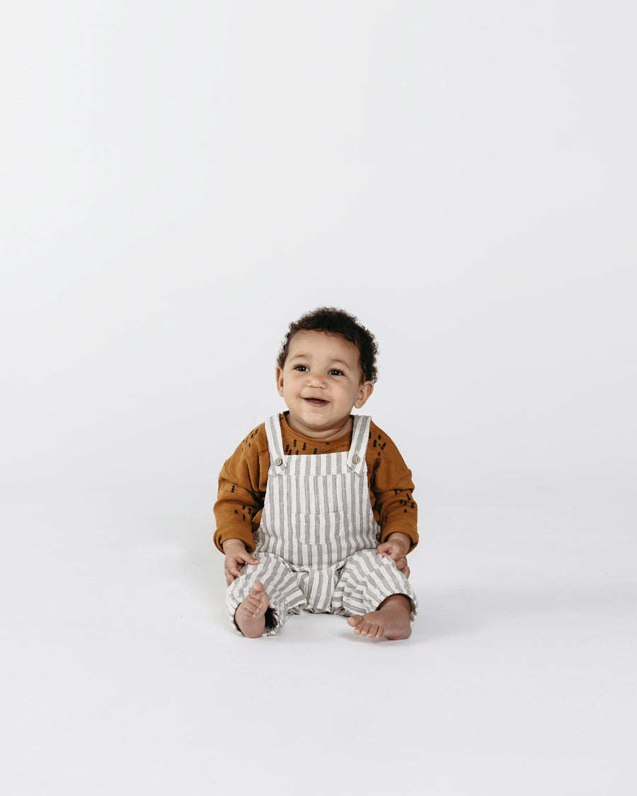 Rylee & Cru Stripe Overalls - Tiny People Cool Kids Clothes Byron Bay