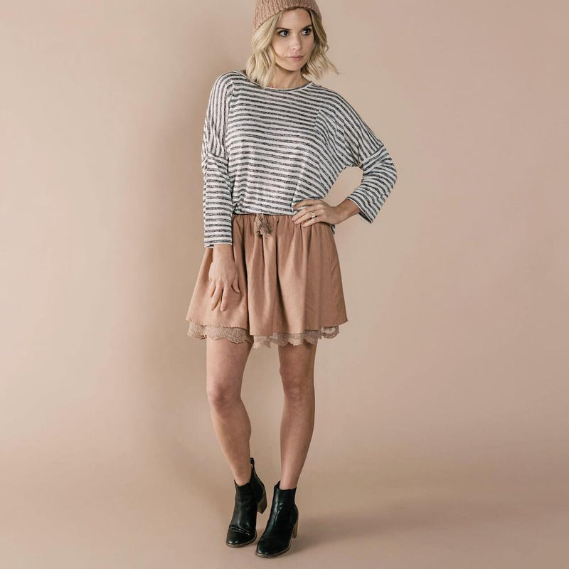 Women's Mini Skirt Truffle
