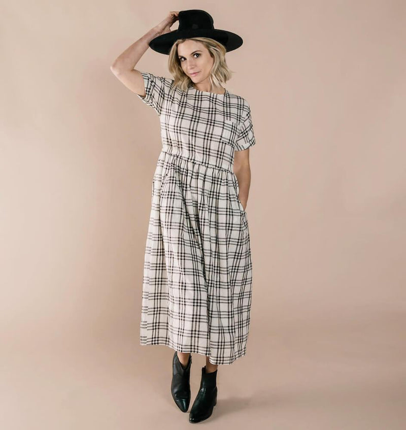 Women's Kat Dress Check