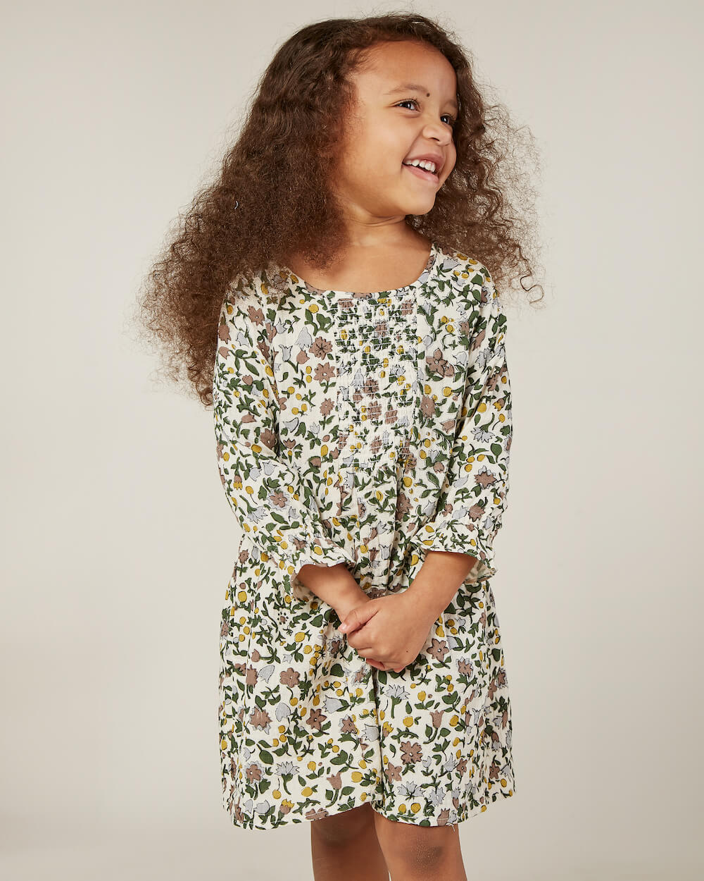 Rylee and Cru Sadie Dress Enchanted Forest | Tiny People