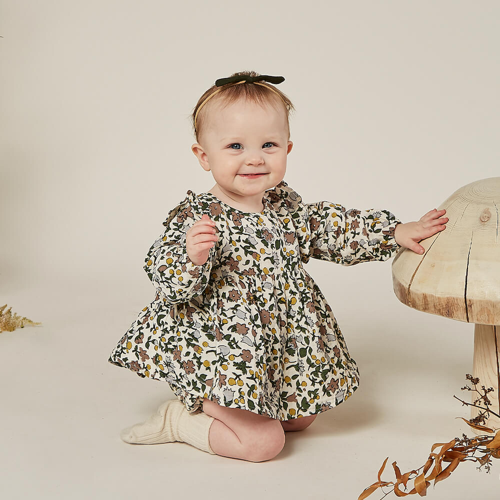 Rylee & Cru Piper Blouse Enchanted Forest | Tiny People