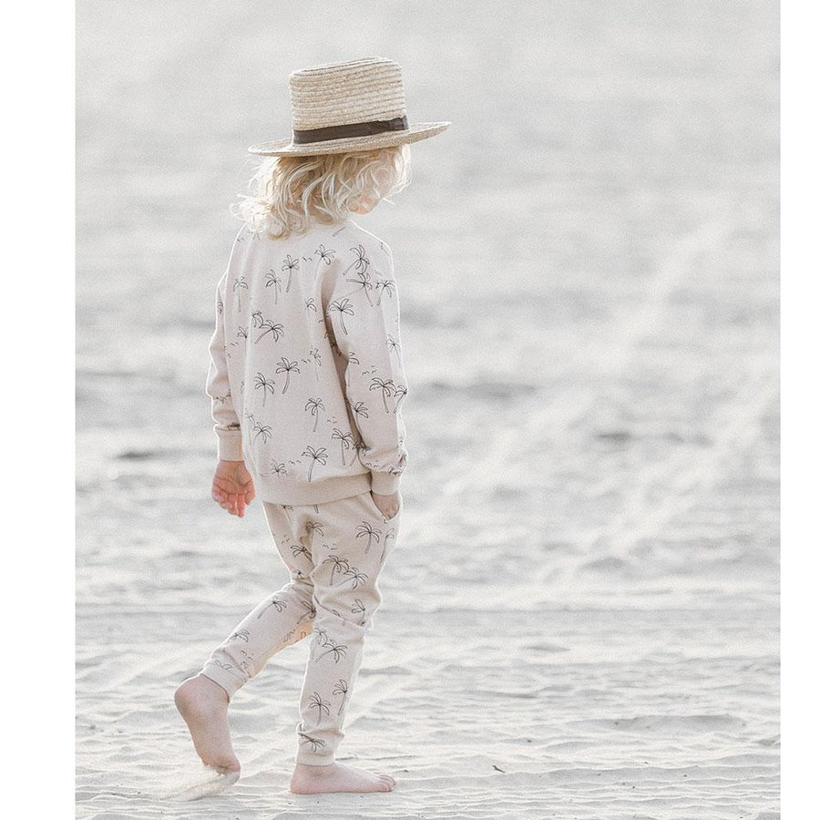 Rylee & Cru Palm Trees Sweatpants - Tiny People Cool Kids Clothes Byron Bay