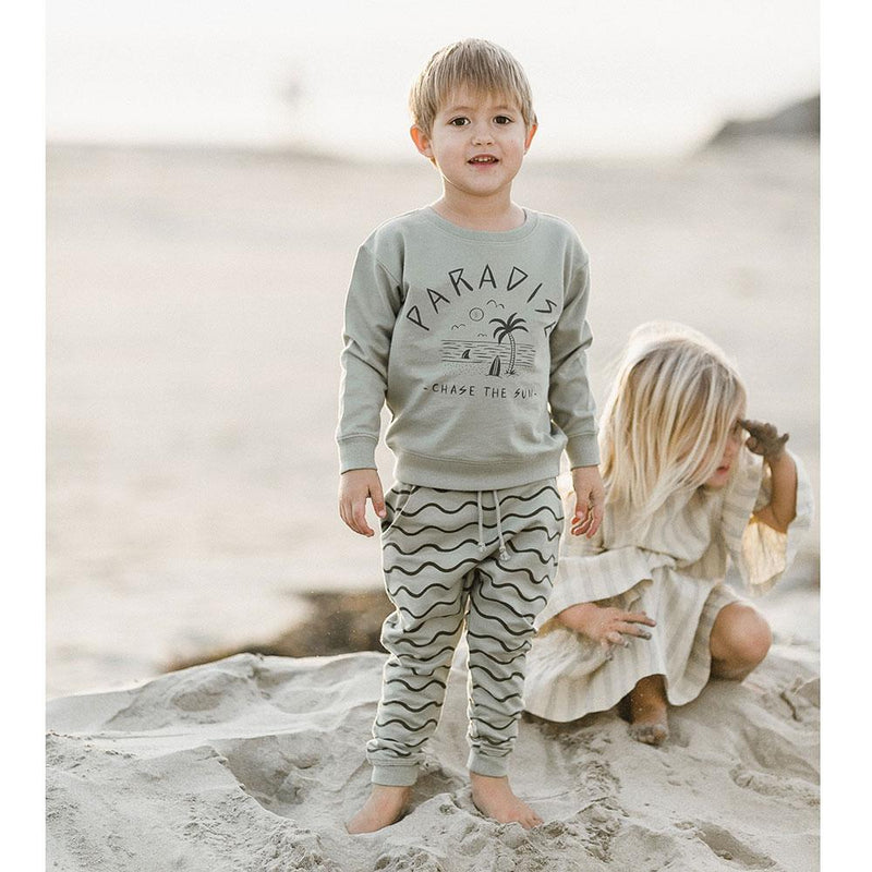 Rylee & Cru Ocean Sweatpants - Tiny People Cool Kids Clothes Byron Bay