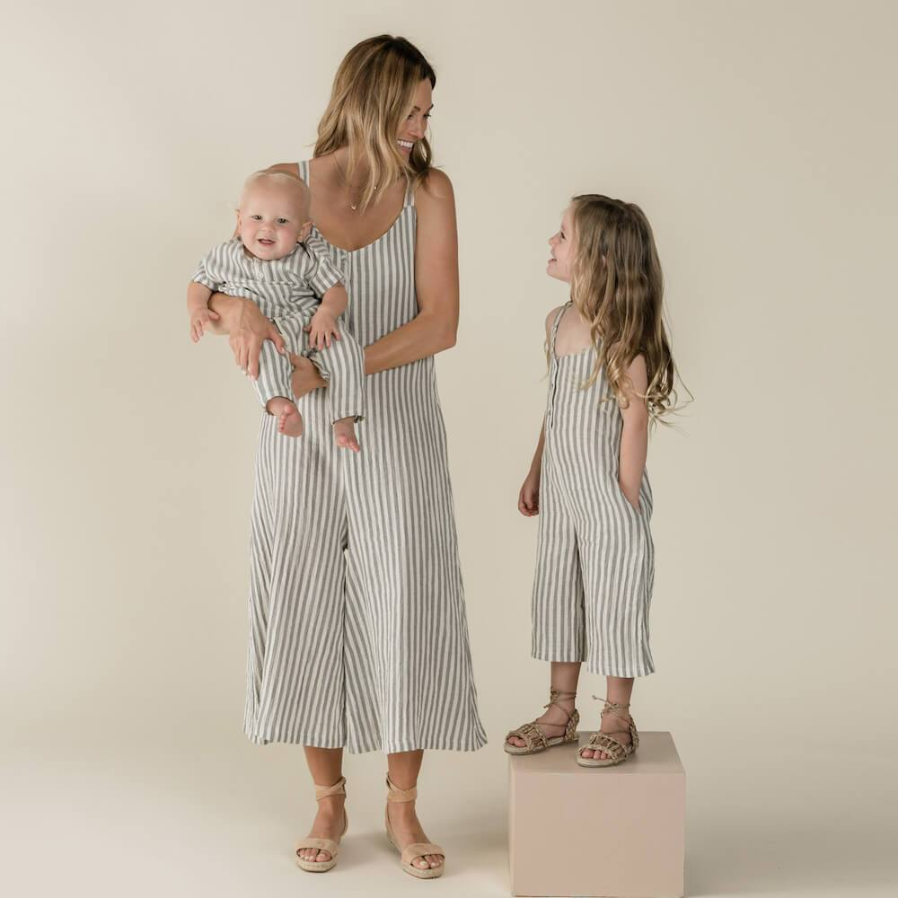 Women's Bridgette Jumpsuit Storm Stripe