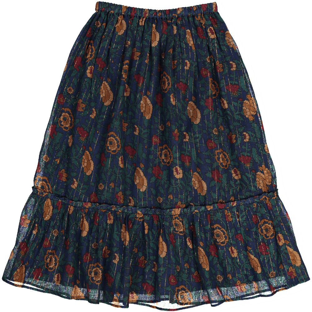 Louis Louise Rachel Skirt Navy Girls Skirts - Tiny People Cool Kids Clothes