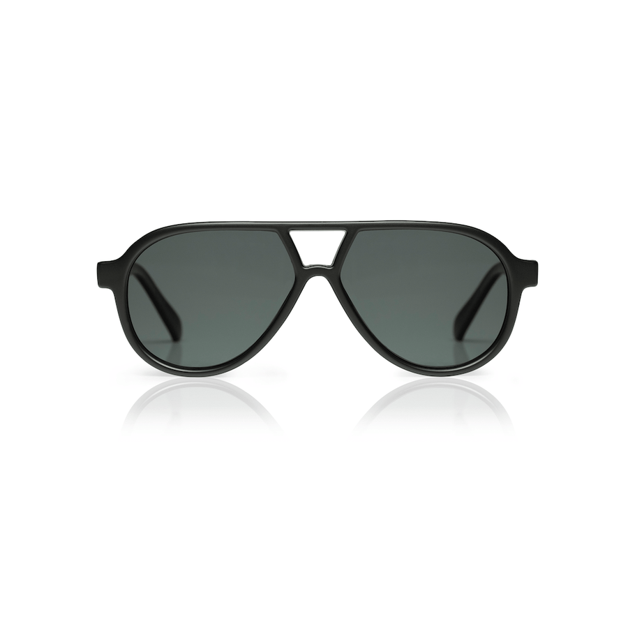 Sons + Daughters Rocky II sunglasses in Matte Black at Tiny People Shop Australia.