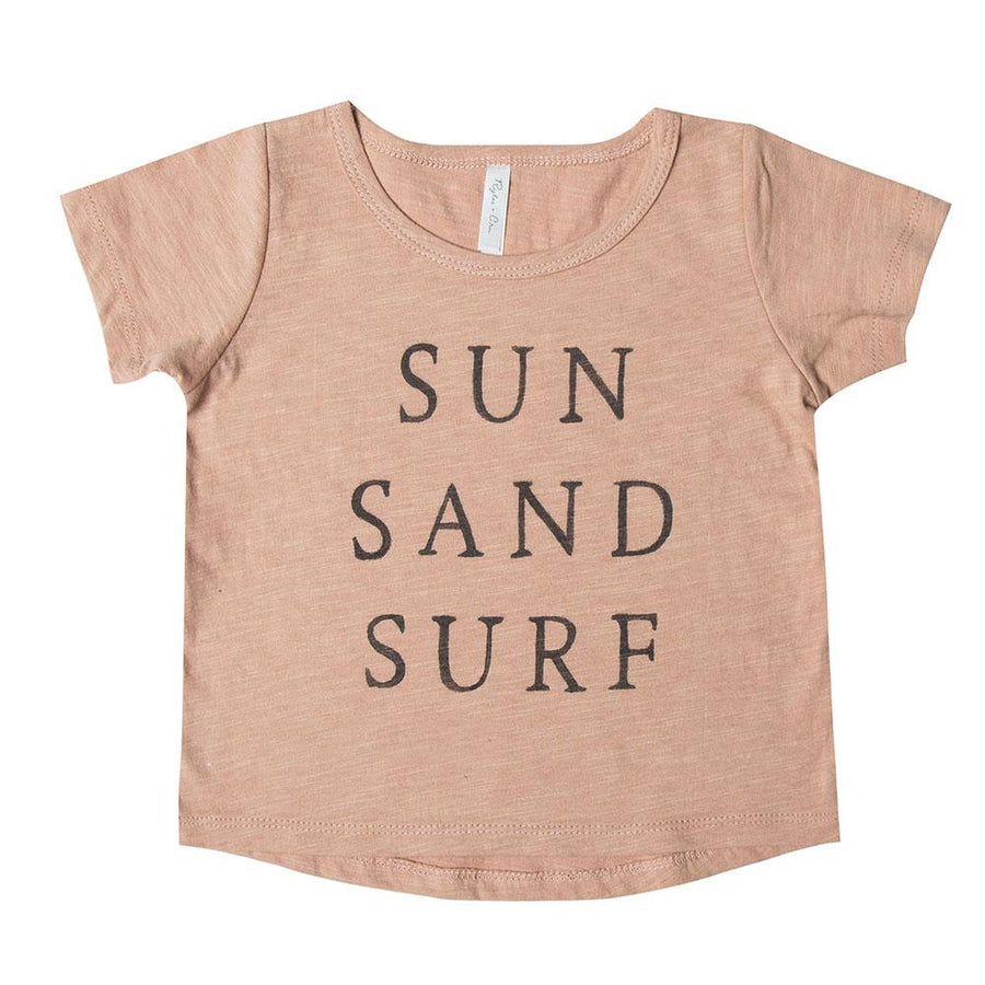 Rylee & Cru Baby Sun Sand Surf Tee - Tiny People Cool Kids Clothes Byron Bay