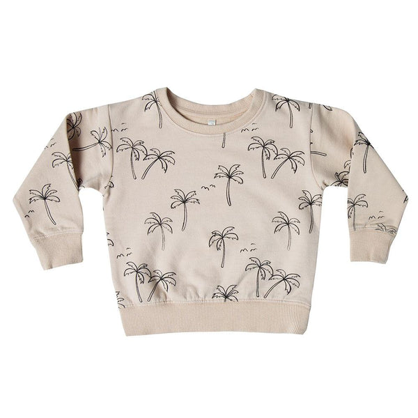 Rylee & Cru Palm Trees Sweatshirt - Tiny People Cool Kids Clothes Byron Bay