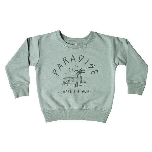 Rylee & Cru Paradise Sweatshirt - Tiny People Cool Kids Clothes Byron Bay