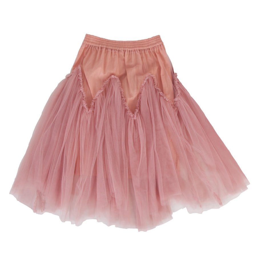 Peggy Harper Tulle Skirt in Pink at Tiny People Shop Australia.