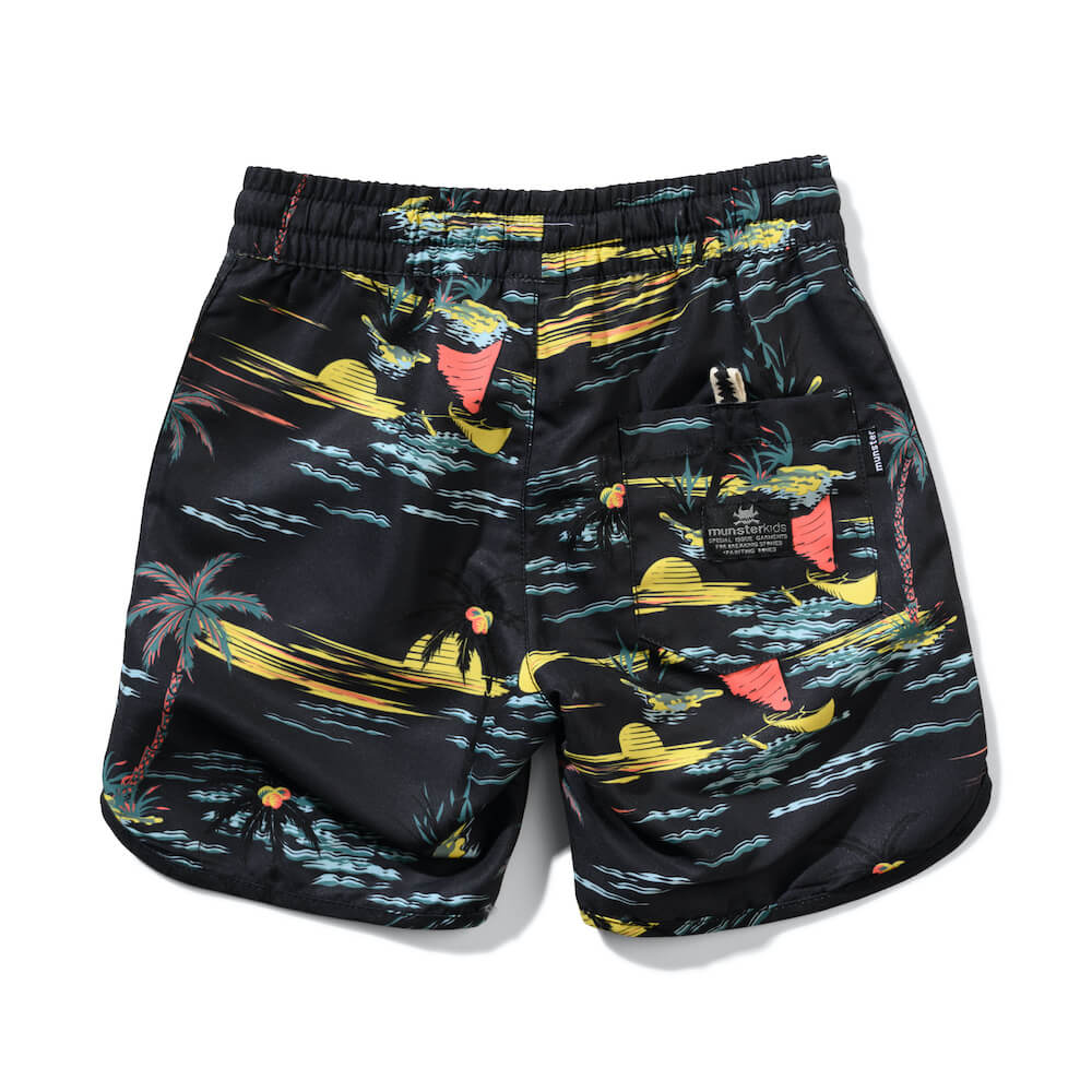 Munster Sailaway Boardshort Black | Tiny People Shop