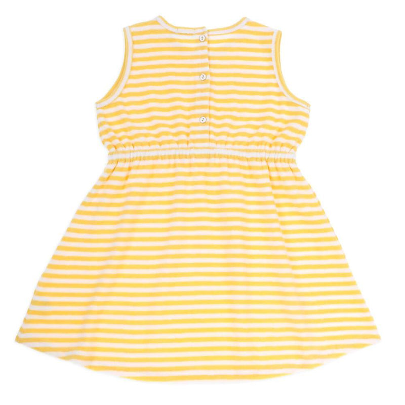 Sia Terry Stripe Dress
