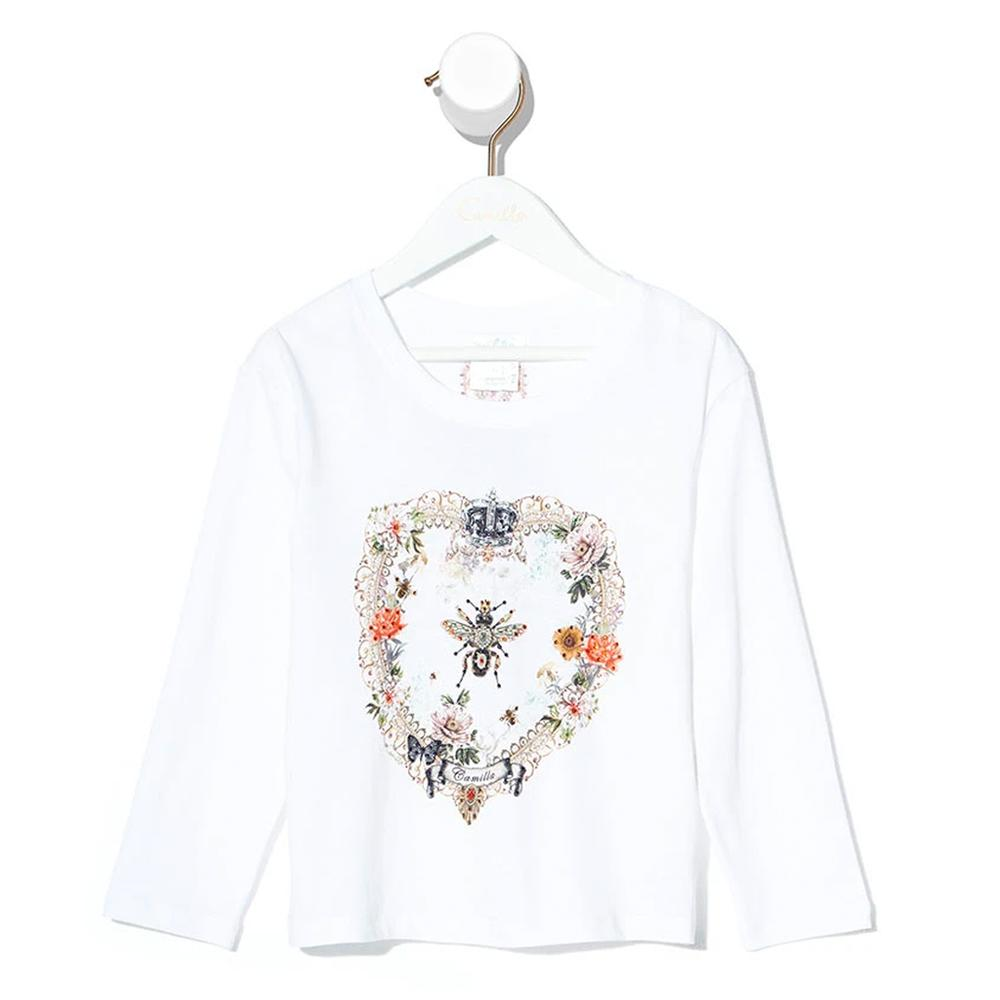 Camilla Sew In Love Kids Long Sleeve Top | Tiny People Australia Online