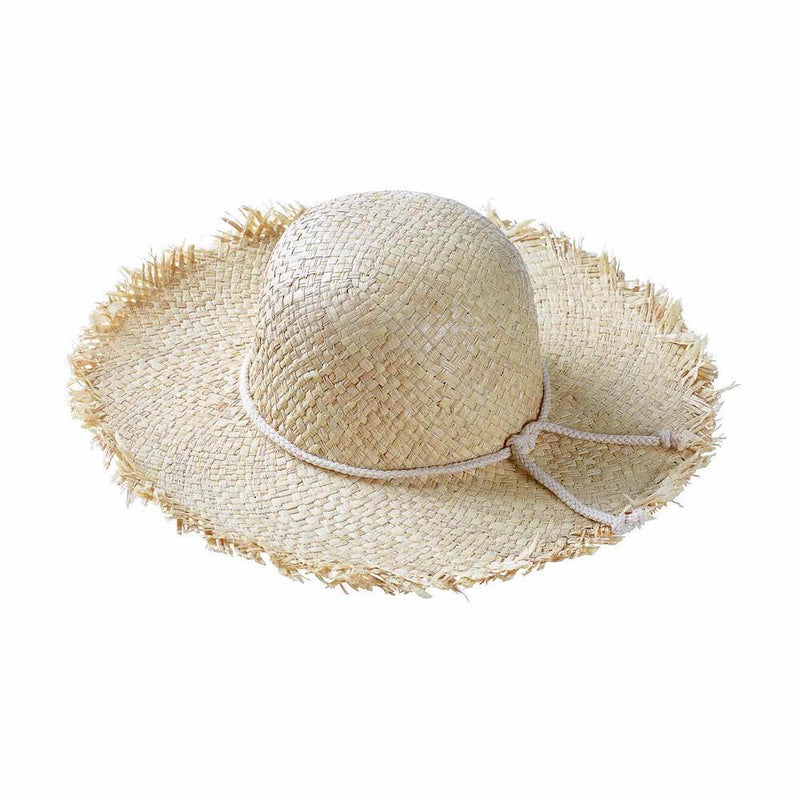 Acorn Kids Ziggy Wide Brim Straw Hat Hats - Tiny People Cool Kids Clothes