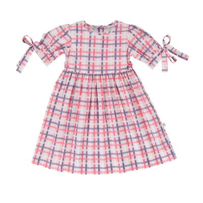 Peggy Billie Dress Vintage Check Girls Dresses - Tiny People Cool Kids Clothes