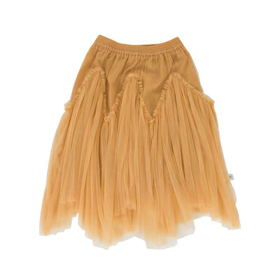 Peggy Harper Tulle Skirt Mustard at Tiny People Shop Australia.