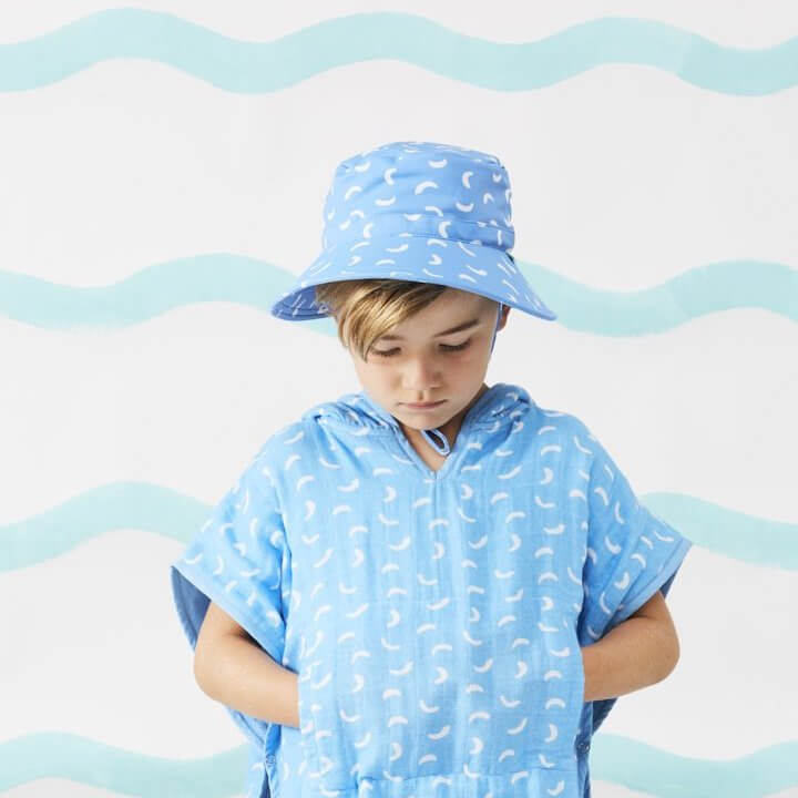 Acorn Kids Dashes Swim Bucket Hat | Tiny People