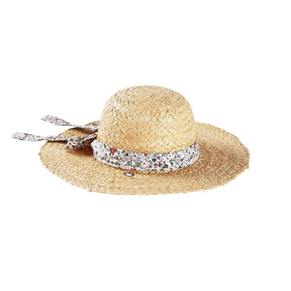 Acorn Kids Charlotte Straw Hat | Tiny People