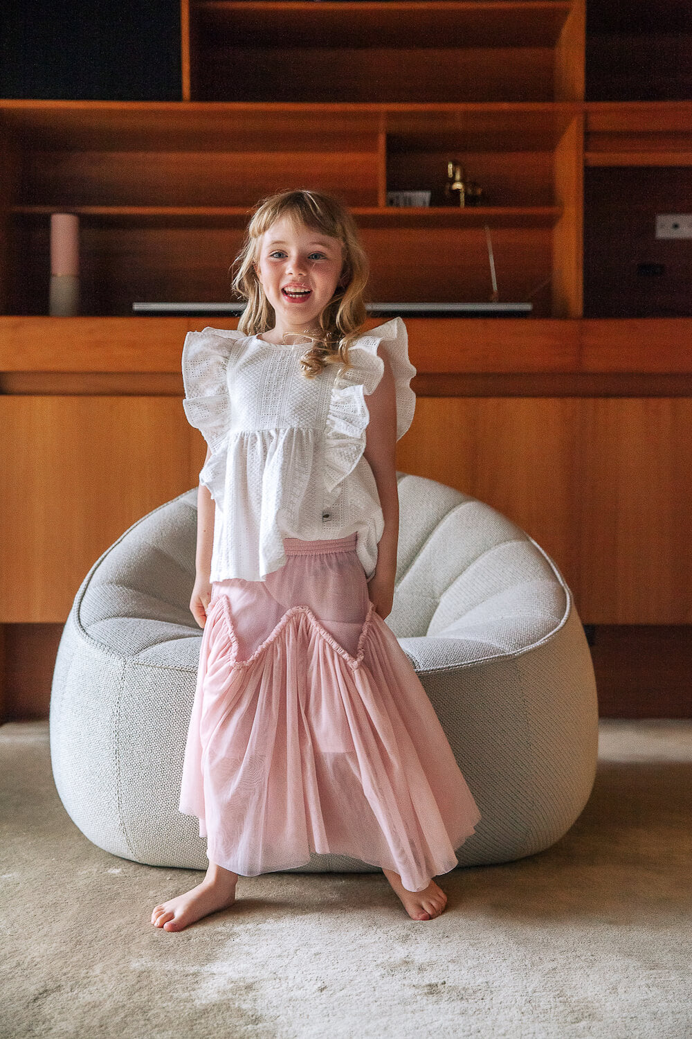 Peggy Harper Skirt Primrose Pink | Tiny People
