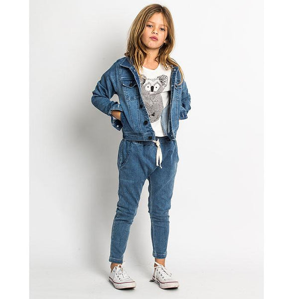 Missie Munster Stephanie Denim Jacket - Tiny People shop
