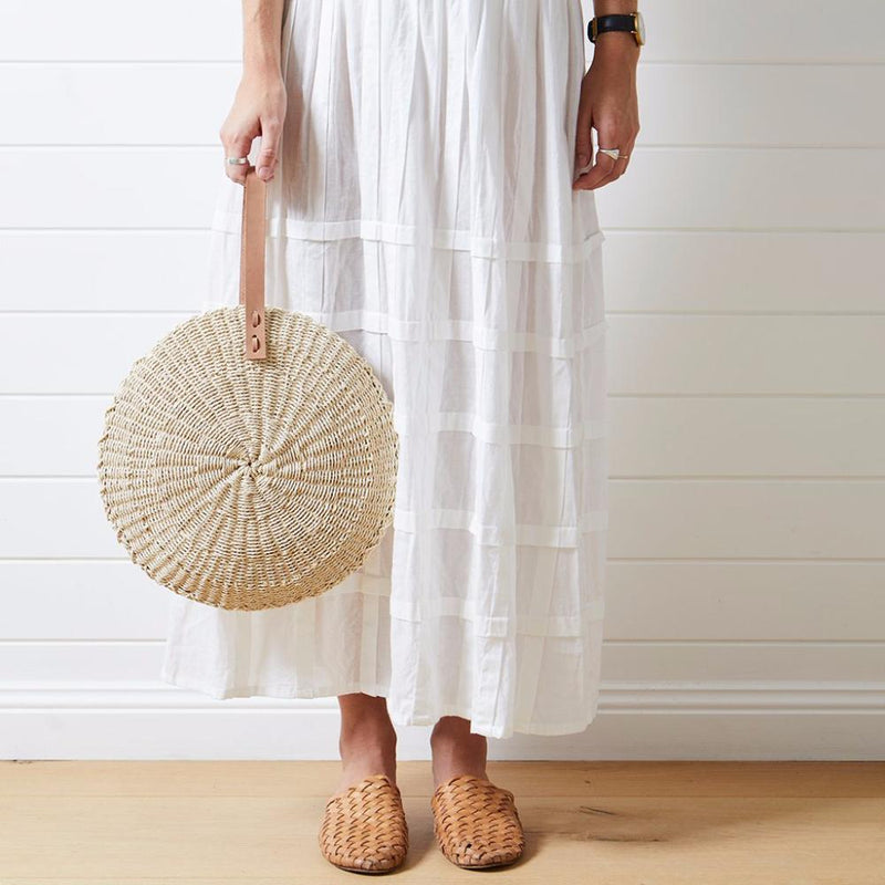 Scallop Midi Beach Bag