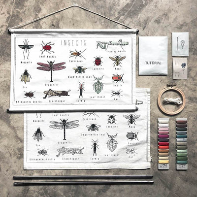 Numero 74 School Poster Kit Insects toys - Tiny People Cool Kids Clothes