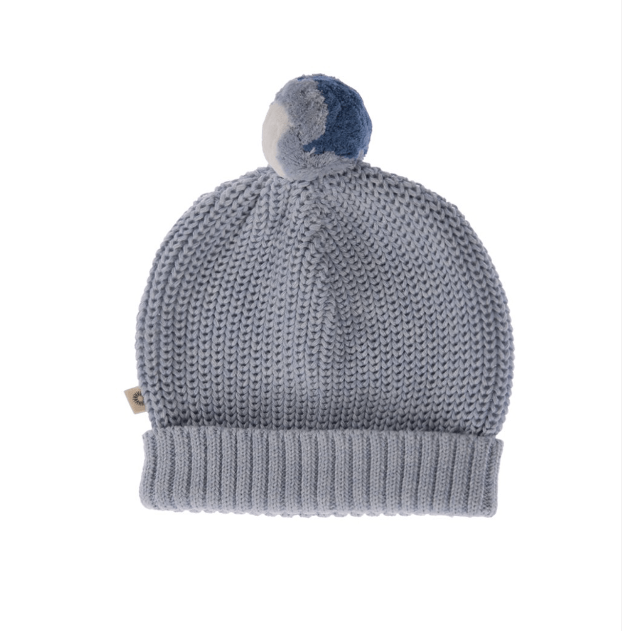 6dc00be70f5 Jujo Baby Knitted Beanie - Pale Blue - Tiny People Cool Kids Clothes Byron  Bay