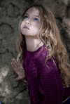 Girls cable-knitted jumper by Bella & Lace at Tiny People Shop Australia.
