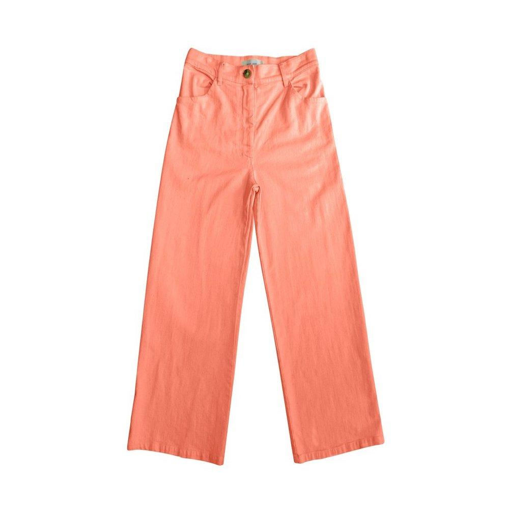 Women's Solar Twill High Waisted Jean Neon Pink