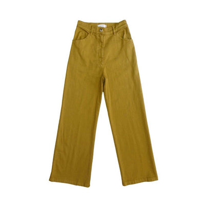 Women's Solar Twill High Waisted Jean Chartreuse