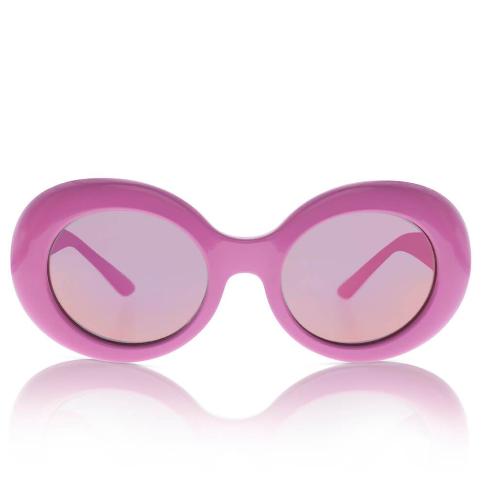 Sons + Daughters Eyewear Kurt (Hot Pink w/ Mirror) Sunglasses - Tiny People Cool Kids Clothes