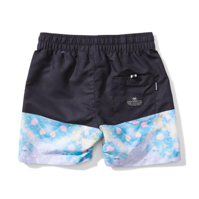 Munster Kids Split Paint Shorts - Tiny People Cool Kids Clothes Byron Bay