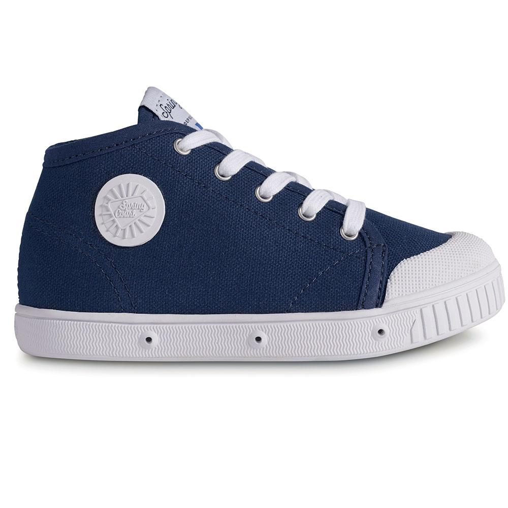 Spring Court Classic Canvas High Top Footwear - Tiny People Cool Kids Clothes