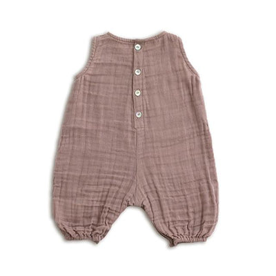 Numero 74 Stef Baby Combi Dusty Pink - Tiny People Cool Kids Clothes Byron Bay