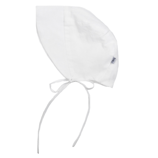 Fox & Horn Summer Bonnet - White - Tiny People Cool Kids Clothes Byron Bay